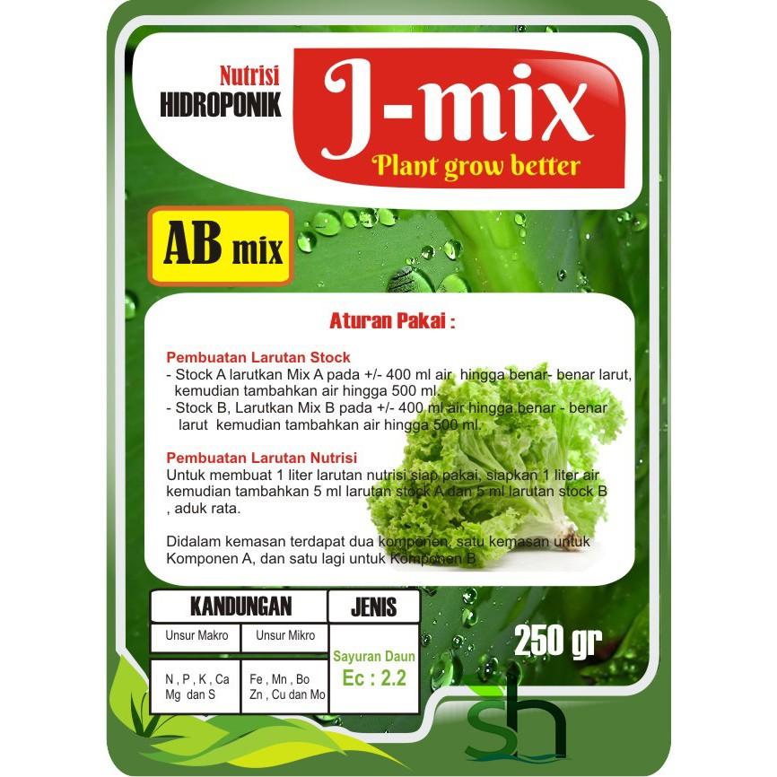 Nutrisi AB Mix Hidroponik Khusus Cabai 250gr Pekatan 500ml | Shopee Indonesia