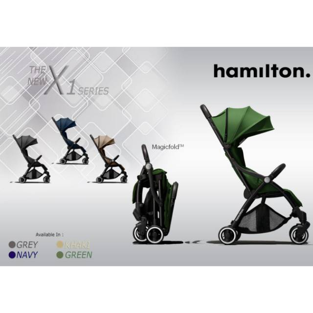 Hamilton Ezze PREMIUM X1 stroller   Shopee Indonesia