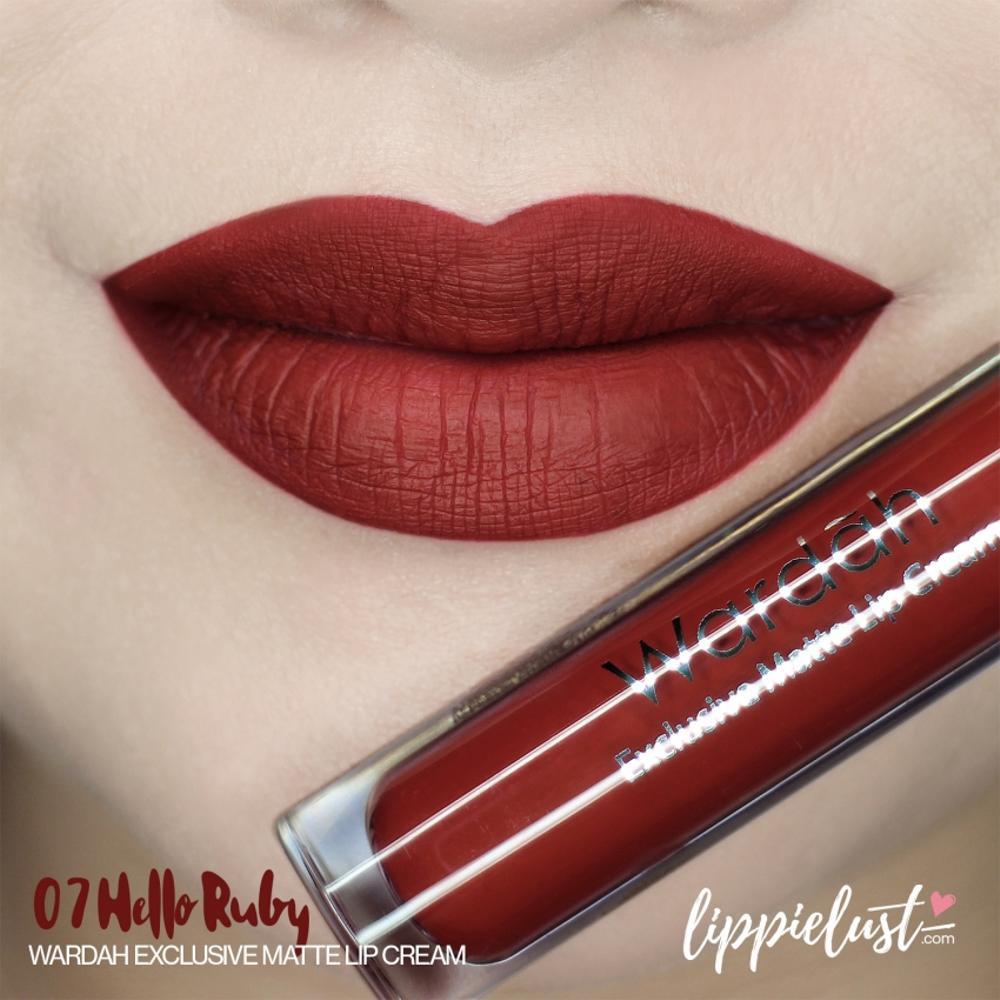 Wardah Exclusive Matte Lip Cream No 3 See You Latte Shopee Indonesia Intense Lipstik No9