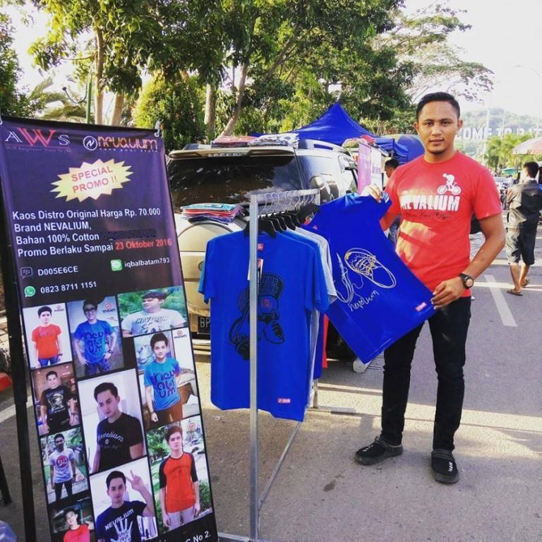 Kaos Distro Nevalium 100 Original Shopee Indonesia