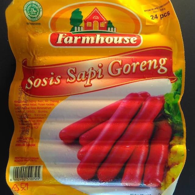 FARMHOUSE SOSIS SAPI GORENG