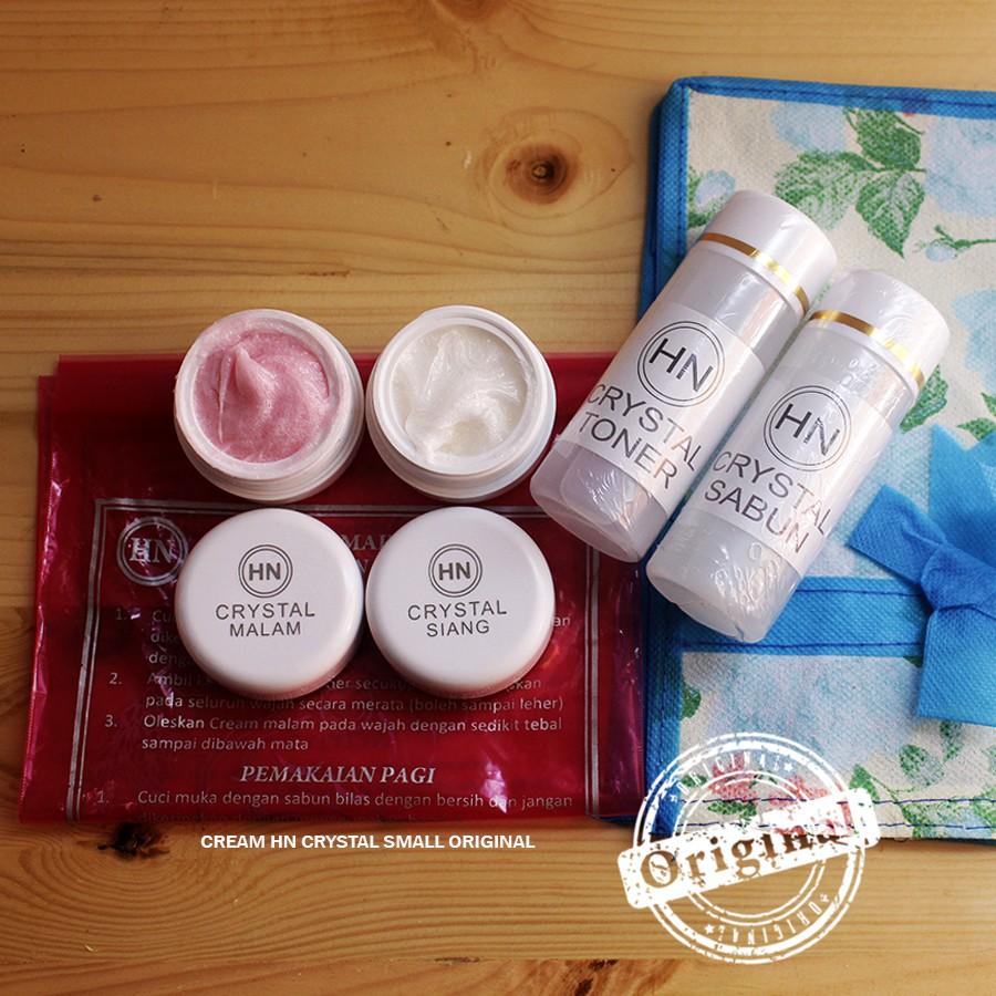 Hq Cream Hn Crystal Emboss Small Real Pict Ukuran Kecil Sabun 60ml Hetty Nugrahati Original Asli Pemutih Wajah Shopee Indonesia