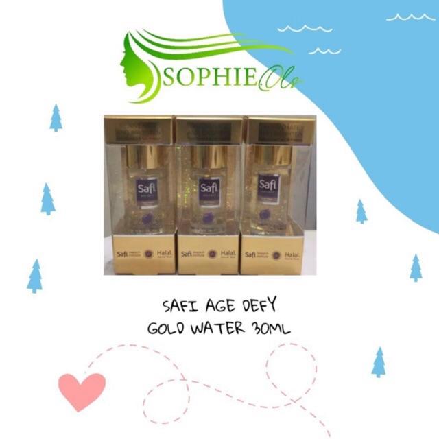 SAFI AGE DEFY GOLD WATER 30ML thumbnail