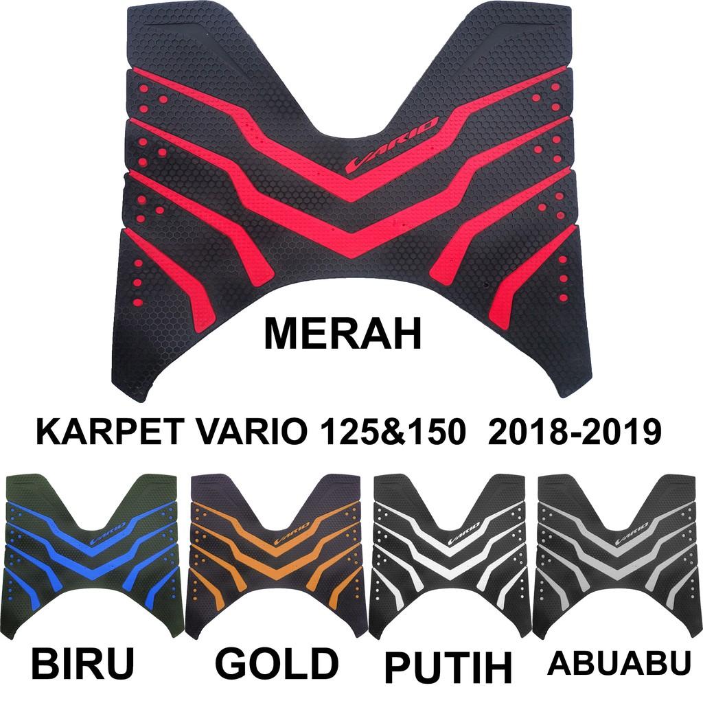 Karpet Motor New Vario 125 / Karpet Vario 150 Tahun 2015 - 2017 | Shopee Indonesia
