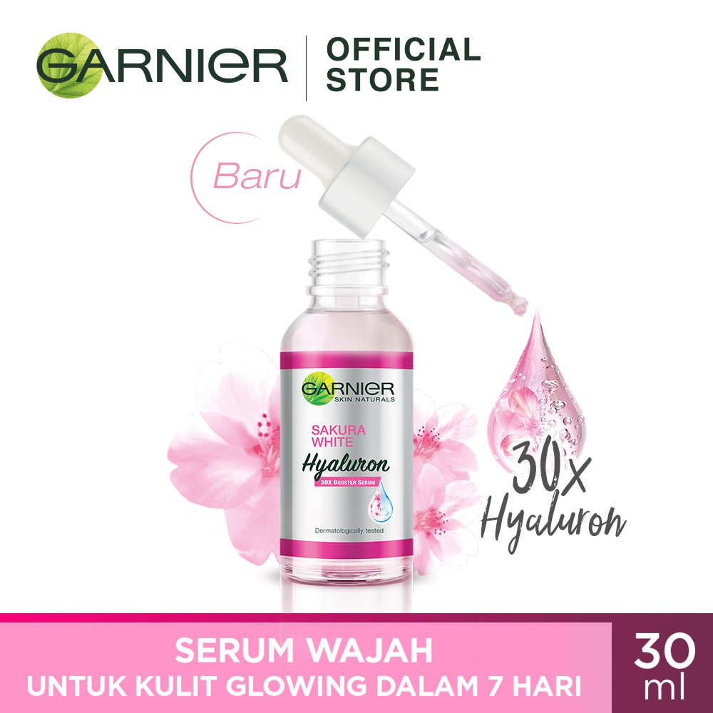 Garnier Sakura White Hyaluron 30x Booster Serum Skin Care ...