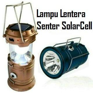 Lampu Lentera Tarik Solar Senter Darurat Power Bank Emergency Camp Light LED Rechargeable | Shopee Indonesia