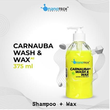 CARNAUBA WASH & WAX - WASH AND WAX SHAMPOO MOBIL