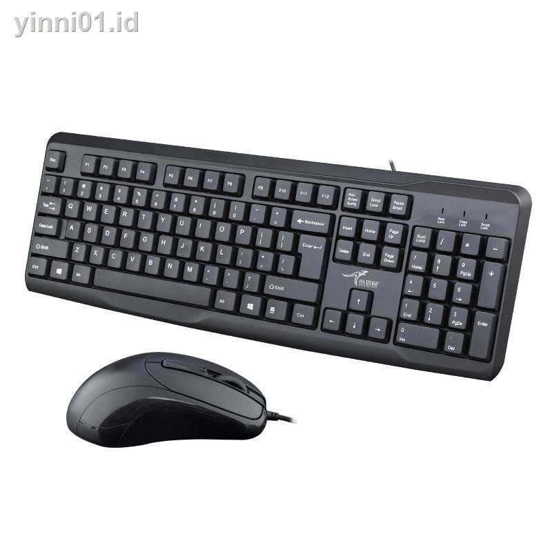 Small Kangaroo Usb Cable Keyboard Mouse Suit Laptop Desktop Computer Or Home Office Shopee Indonesia