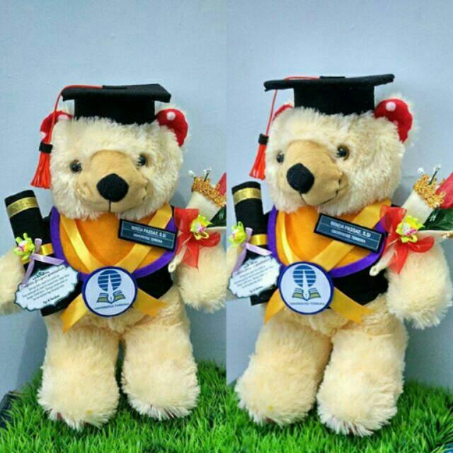 Boneka Wisuda Lion Singa 35cm Kado Wisuda Shopee Indonesia