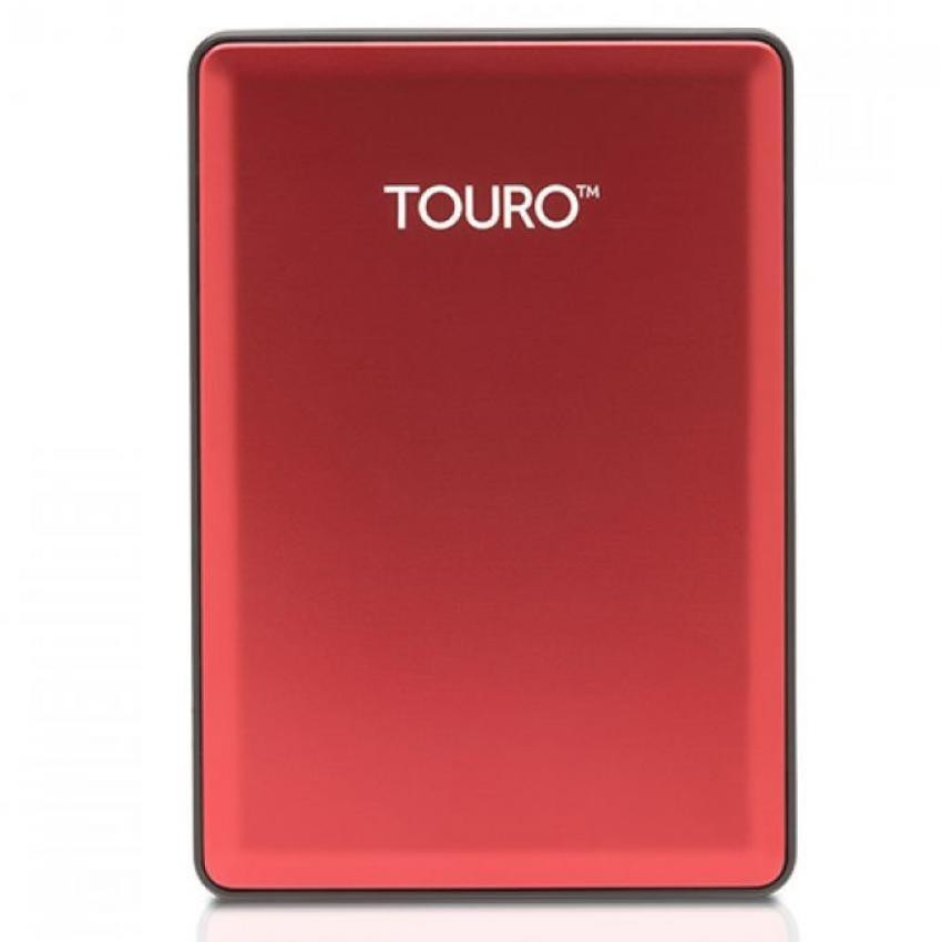 "HGST Hitachi Touro S 500GB 7200RPM - HDD Hard Disk External Portable 2.5"" - Red 