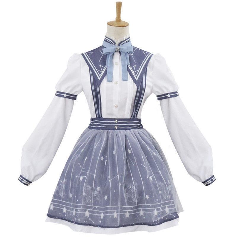 New Cosplay Anime Lolita Dress Anime Miracle Nikki Women Sweet halloween Costume
