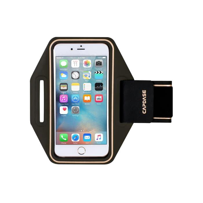 CAPDASE POSH Sport Armband Zonic iPhone 7 Plus - Black Gold  9c779df207