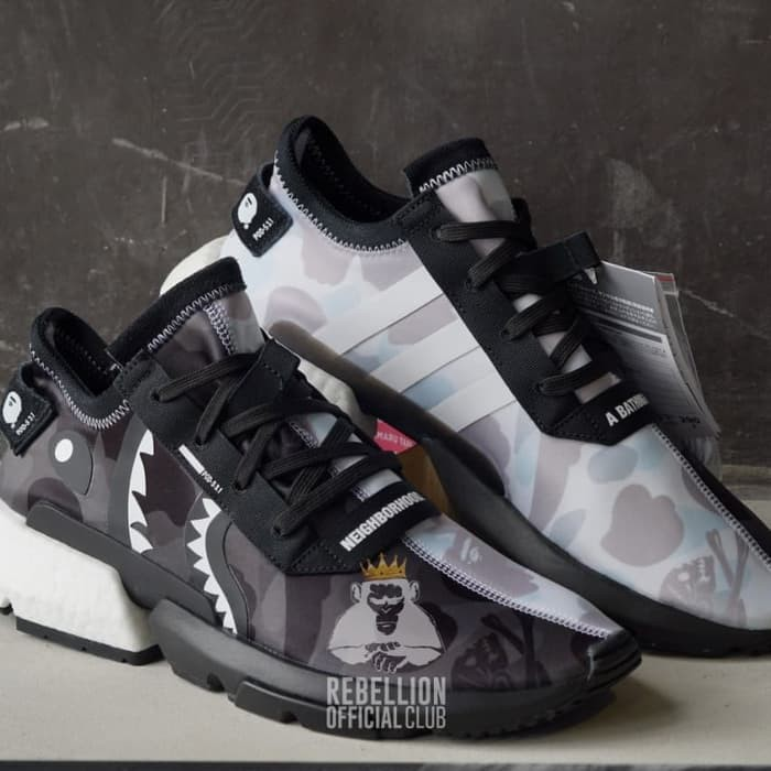 3d967c497b8 Bape X Adidas X Neighborhood POD 3.1 Shoes