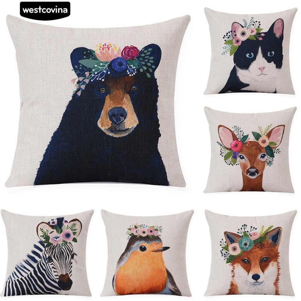 Sarung Bantal Kursi size 40x40cm Cushion Pillow Cover Akachan sbk | Shopee Indonesia