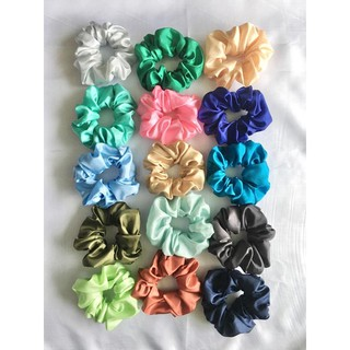 Scrunchie Satin Part 2 Ikat Rambut Hijab Ikat Rambut Scrunchie thumbnail