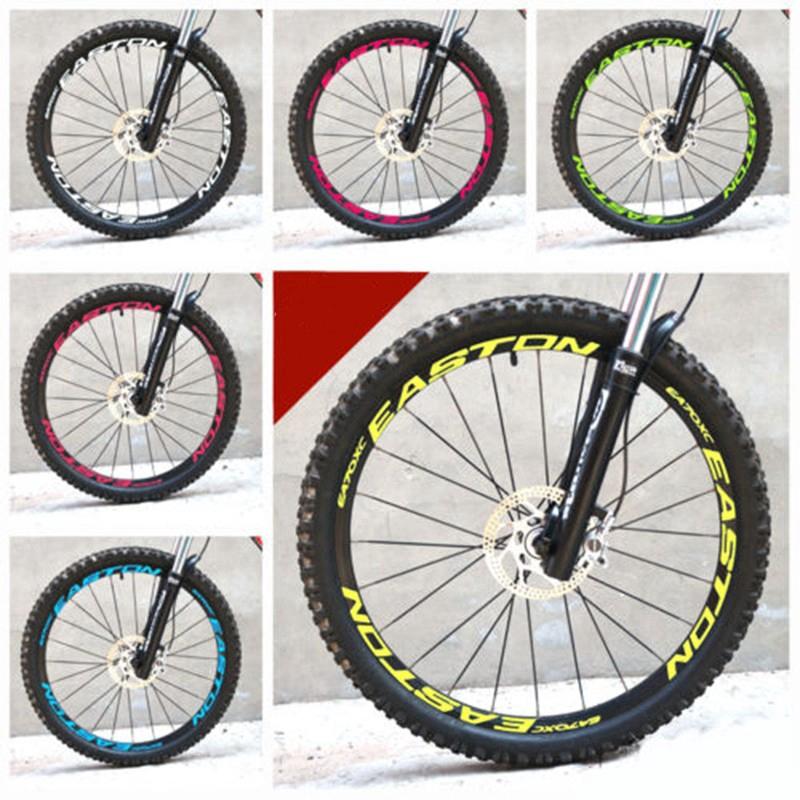 Wheel Stickers Set for EASTON EA70 XC Mountain Bike EA 70 MTB Bicycle Decals