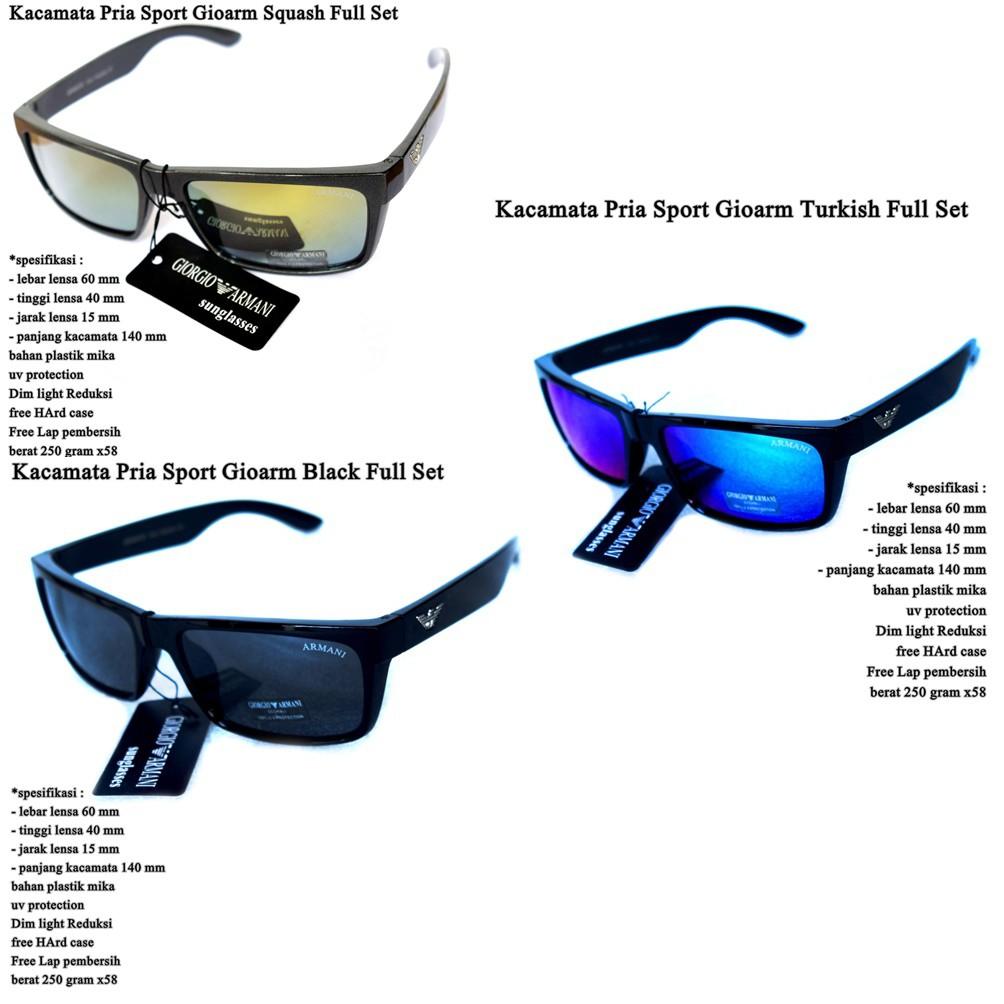 kacamata hitam   kacamata pria sunglasses sport spy blue fullset ... d132f23047