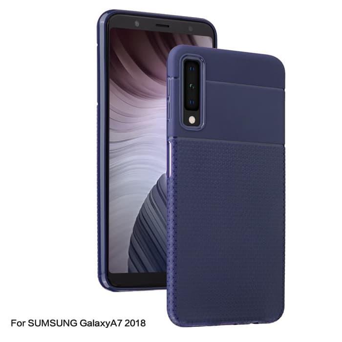 finest selection 2ebdb 47eca HOT I-Zore Creative Casing Soft Case Samsung Galaxy A7 2018 - Biru