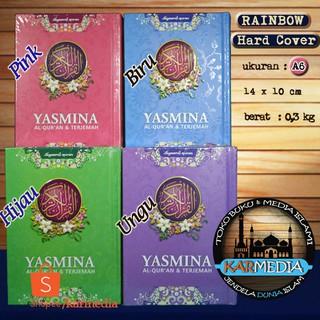 Al Quran Yasmina A6 Rainbow - Quran Wanita Kecil - Syaamil - Karmedia   Shopee Indonesia