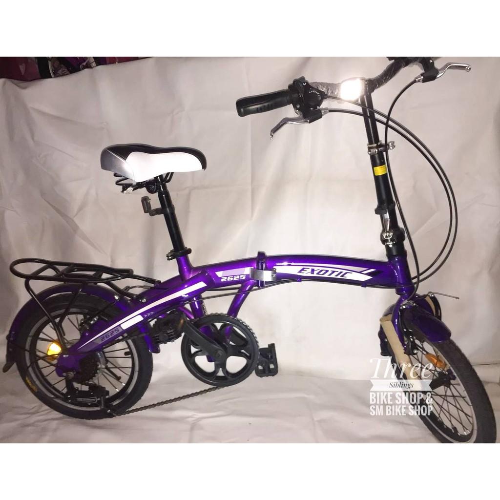 Harga Sepeda Lipat Anak Merk Exotic - SEPEDAPUL