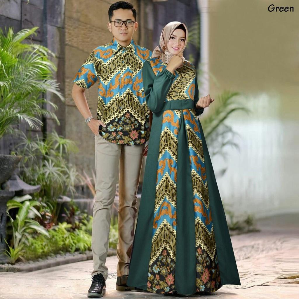 82 Gambar Baju Batik Pasangan Suami Istri Paling Keren