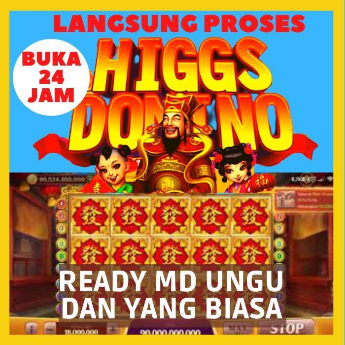 Chips Coin Cip Koin Chip Agen Resmi Domino Higgs Island High MD Ungu Kuning Biasa Emas Sakti Ecer Eceran Encer Hoki 1b 300m 500m 700m 800m Murah Termurah