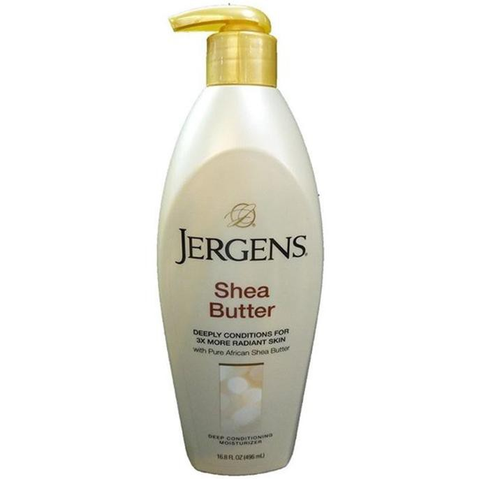 TERBARU - JERGENS SHEA BUTTER ASLI 496ML (MADE IN USA) (ASLI IMPORT) | Shopee Indonesia