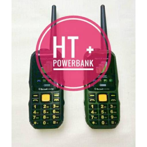 Brandcode B68 B-68 HP Bisa HT Dan Powerbank 10.000 MAH Outdoor (Prince PC10 ALDO 007)   Shopee Indonesia
