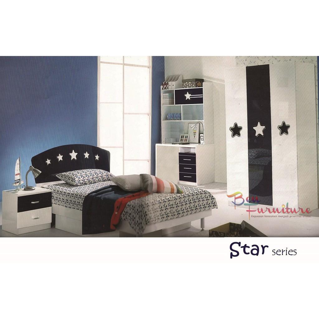 Toko Online Ben Furniture Shopee Indonesia Porter Kasur Spring Bed Santa Fe Plush Top Bonnel 160x200cm Fullset