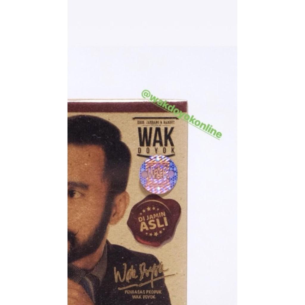 Krim Jambang Wak Doyok Malaysia Original Cream Wakdoyok Terbaik Sampel 125ml Shopee Indonesia