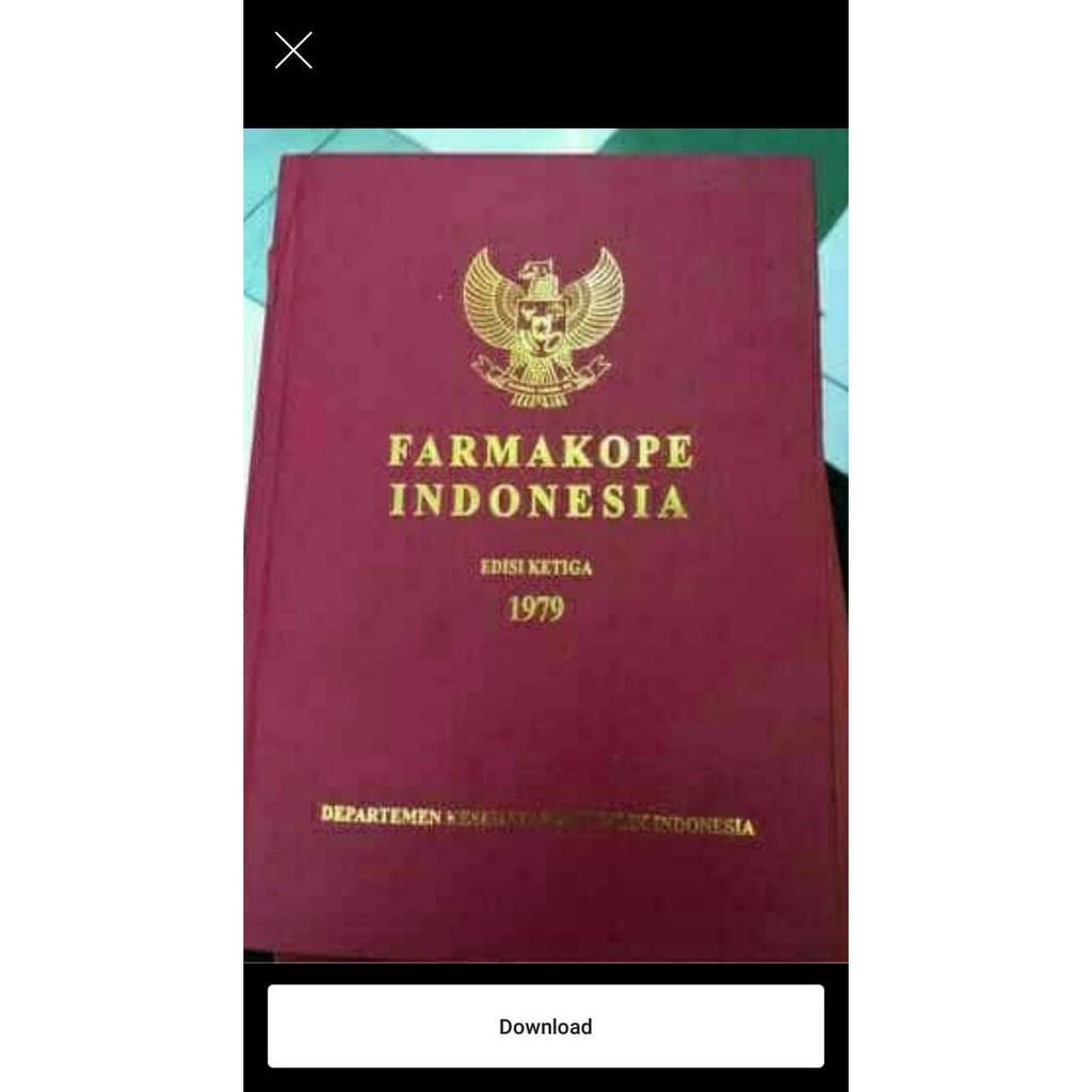 FARMAKOPE INDONESIA Edisi ...