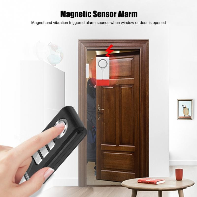Alarm Pintu Magnet Anti Maling dengan Remote Control untuk Keamanan Rumah   Shopee Indonesia