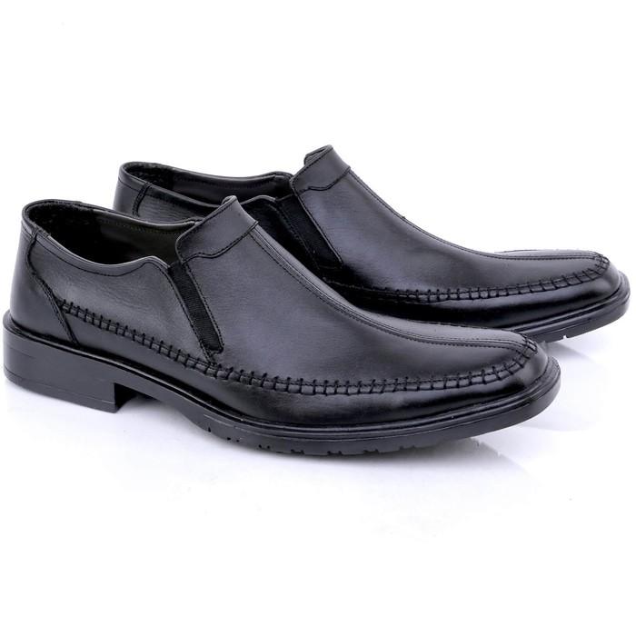 Termurah Sepatu Kulit Pria Pansus Pria Pantofel Kulit Jk Collection J T95 Berkualitas   Shopee Indonesia