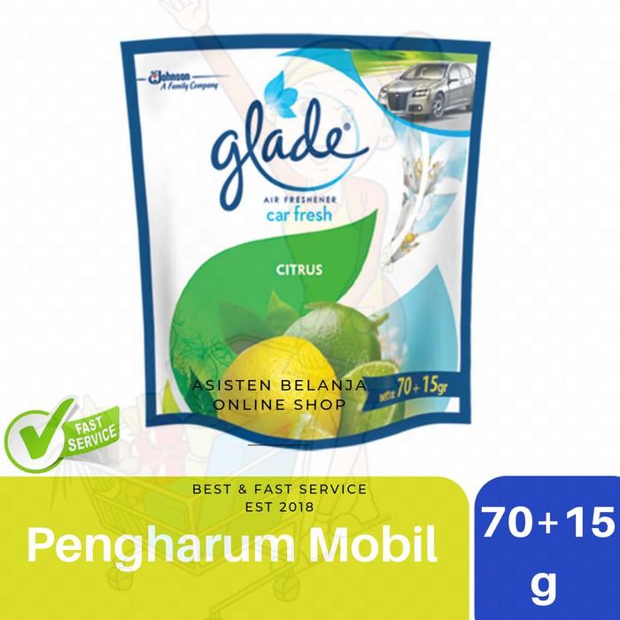 Glade Car Citrus 70 15 G Pengharum Ruangan Mobil Kamar Mandi Parfum Mobil Car Air Freshener Shopee Indonesia