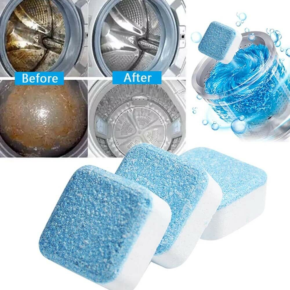 10pcs Washing Machine Cleaner Washer Cleaning Detergent Effervescent Tablet Washer Shopee Indonesia