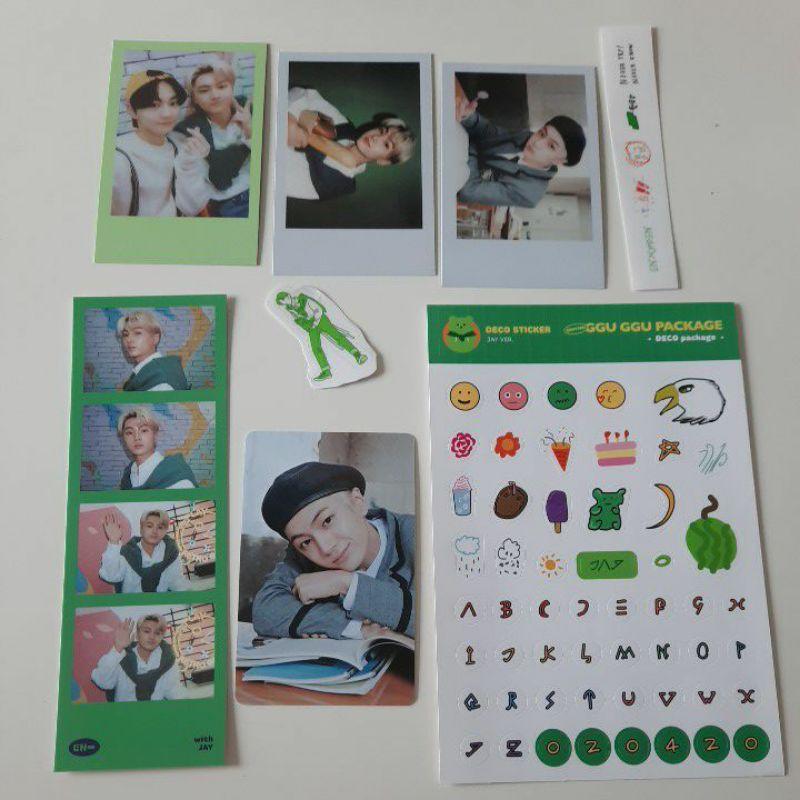 PC Photocard / Polaroid Jay Set Ggu Ggu Package Enhypen