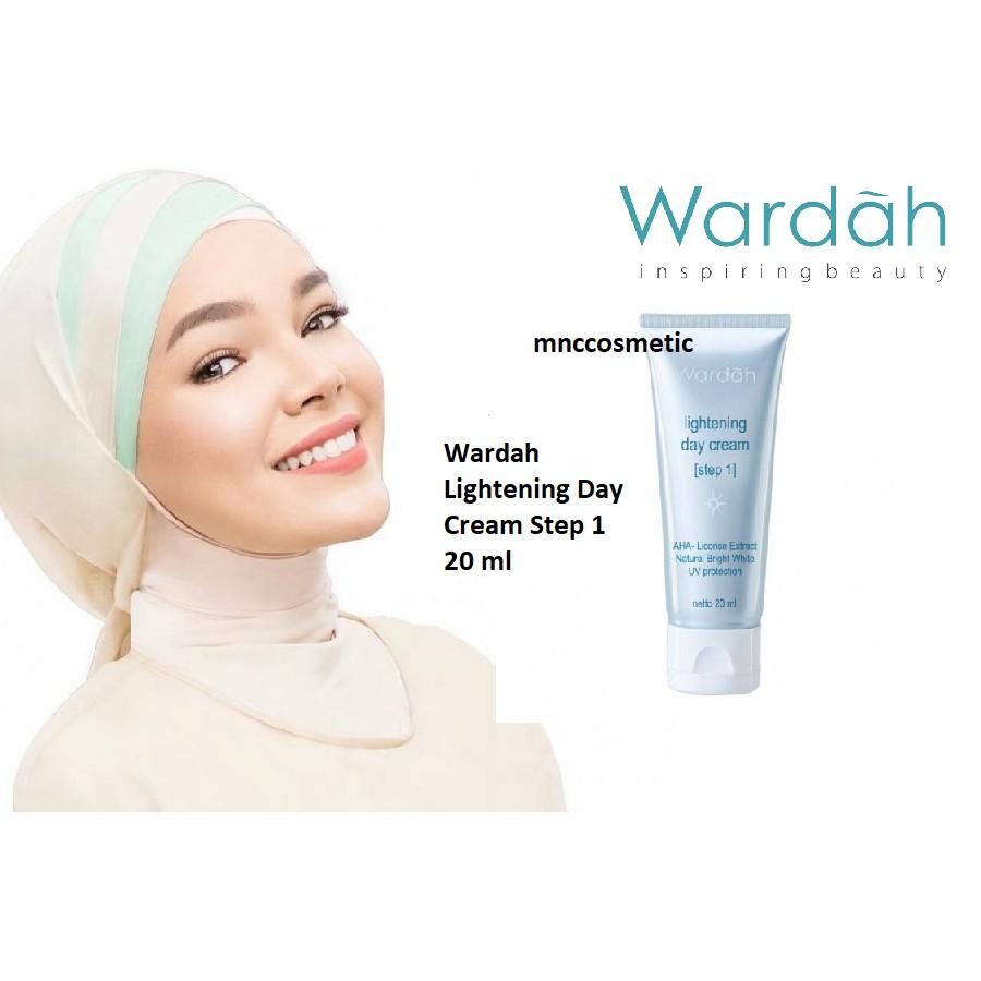 Wardah Lightening Day Cream Step 2 30 Gram Shopee Indonesia 20 Ml