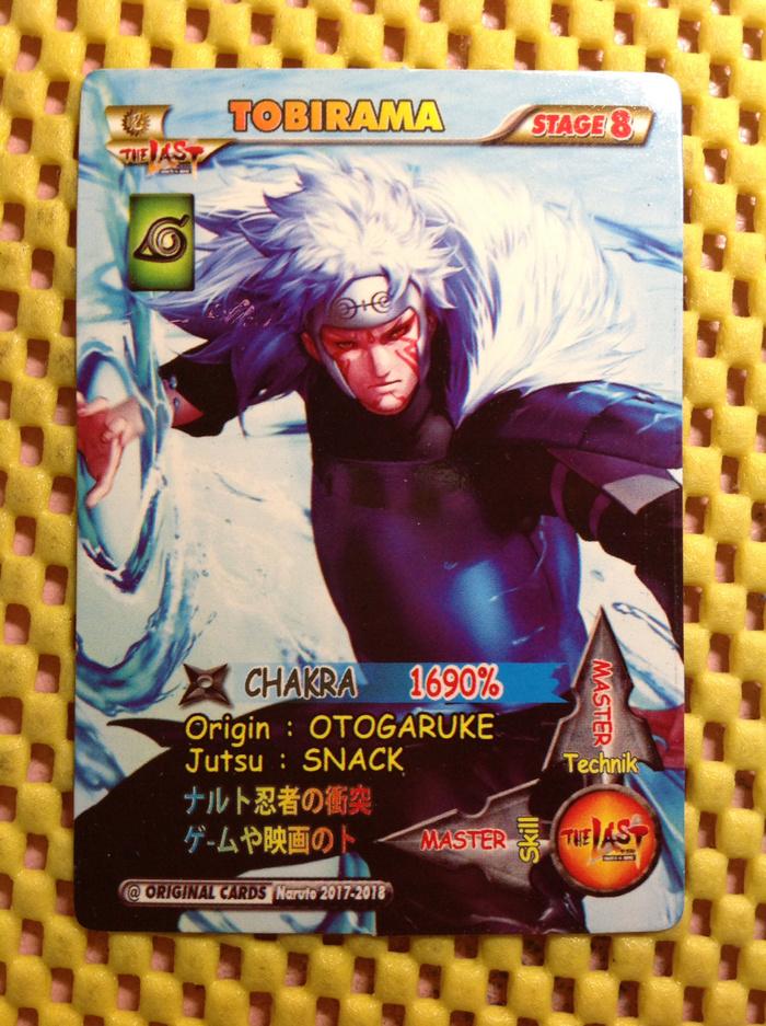 Tobi rama chakra ninja storm special jutsu koleksi kartu naruto murah