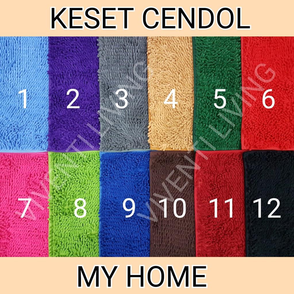 [FOTO ASLI] KESET CENDOL MICROFIBER 40 X 60 CM TEBAL - ANTI SLIP TERMURAH   Shopee Indonesia