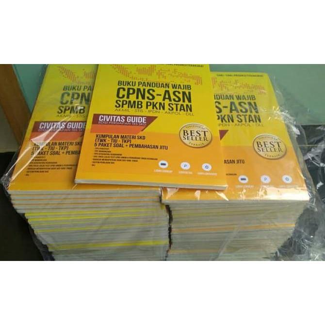 Flash Sale Asli Buku Panduan Soal Tkd Cpns Asn Usm Pkn Stan Stis Akpol Ipdn Murah