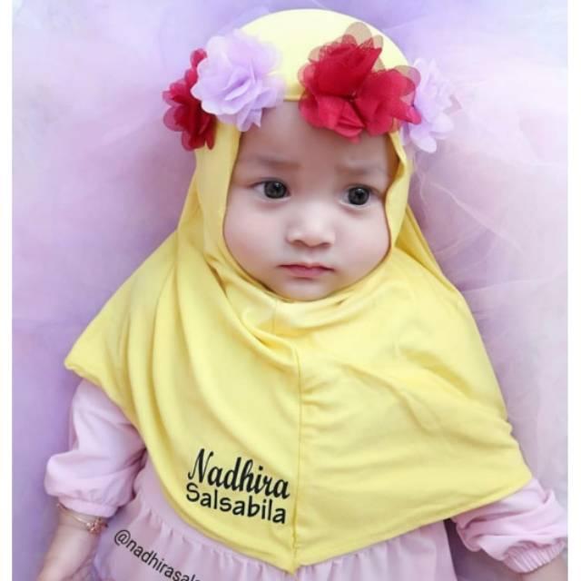 Jilbab Anak Mahkota Bunga Shopee Indonesia
