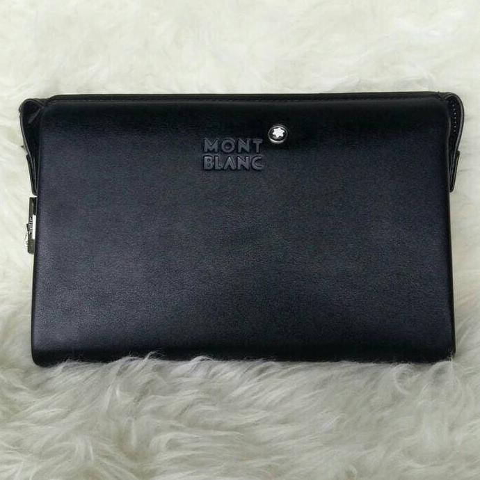 Tas slingbag montblanc 6801 black super tas pria tas cowok tas import  0dd7087e68
