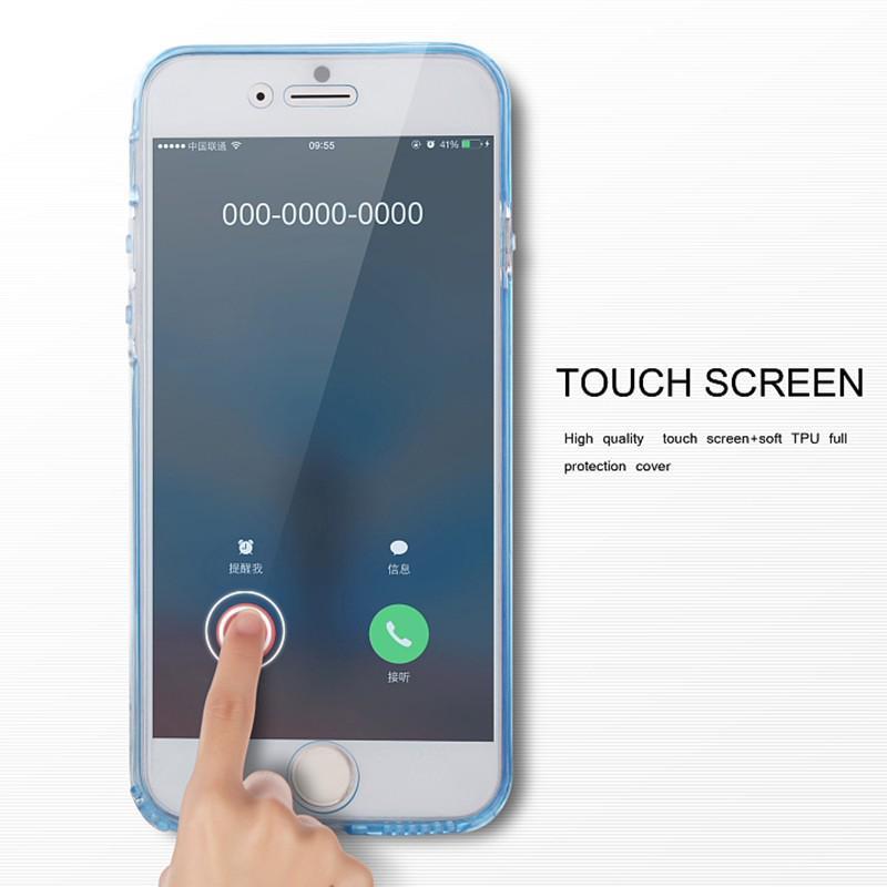 Casing Soft Case Full Cover 360 Derajat Transparan untuk ...