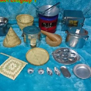 Fj Paket Lengkap Masak Masakan Mini Paket Kompor Miyak Tanah Mini Shopee Indonesia