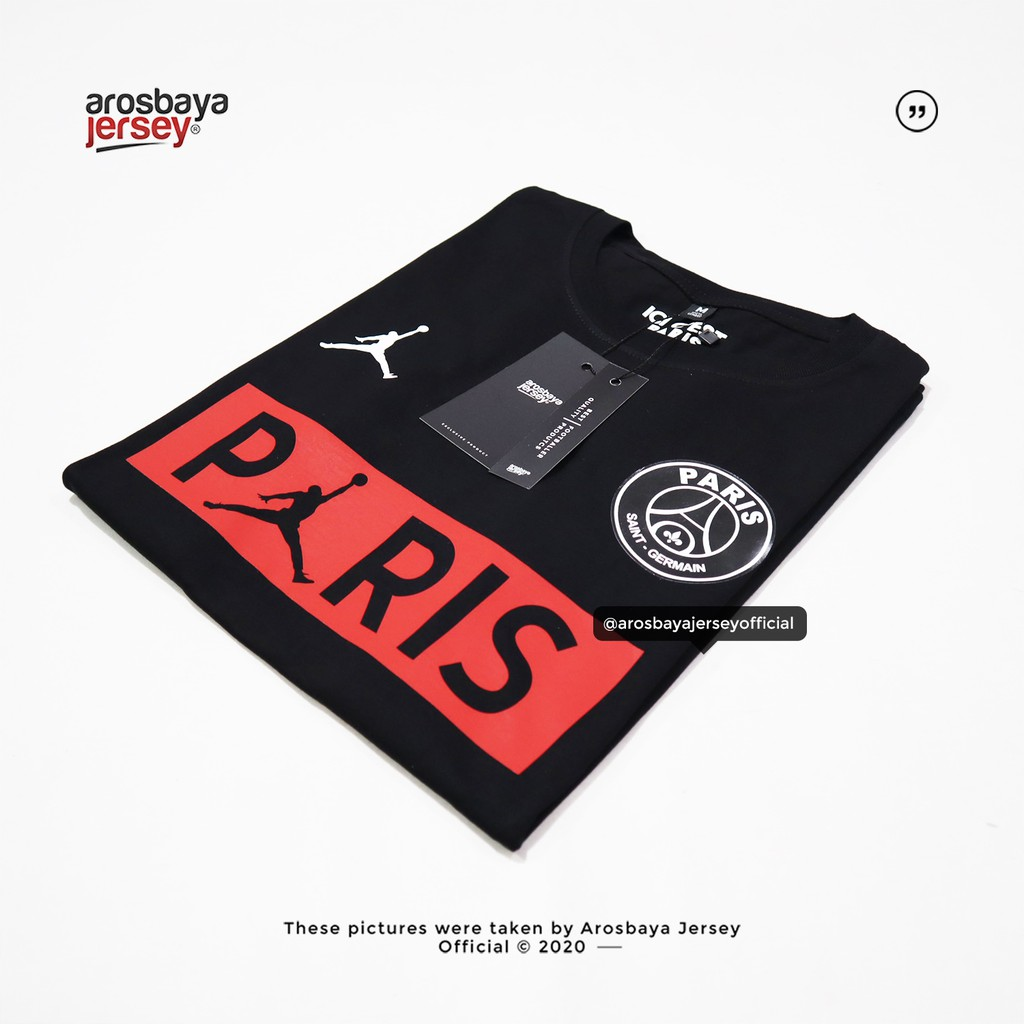 Kaos Psg X Jordan Limited Shopee Indonesia
