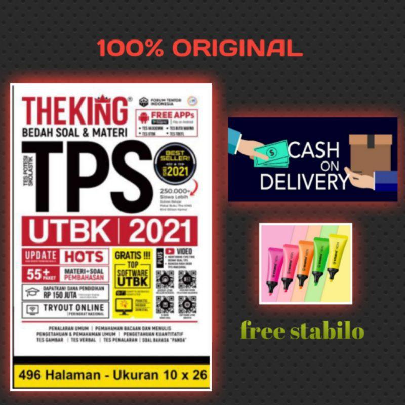 TPS 2021 - THE KING BEDAH SOAL & MATERI TPS UTBK 2021 ...