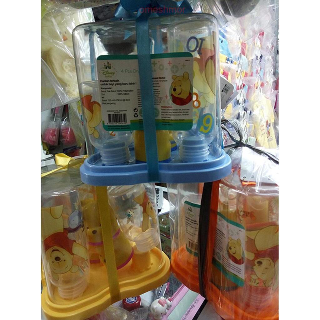 Disney Baby Milk Bottle Pooh 125ml Botol Susu Kepala Winnie The Safe Feeding Dot Bayi Regular Ap001 Shopee Indonesia