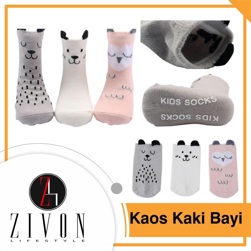 Dapatkan Harga Kaos Kaki Bayi Anak Diskon Shopee Indonesia Karakter Animal Pony Kids Kid Baby Sock Socks