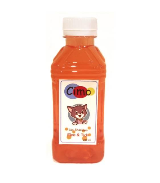 CIMO 250 ml / SHAMPO KUTU KUCING / FLEA AND TICK SHAMPO FOR CAT / grooming-1