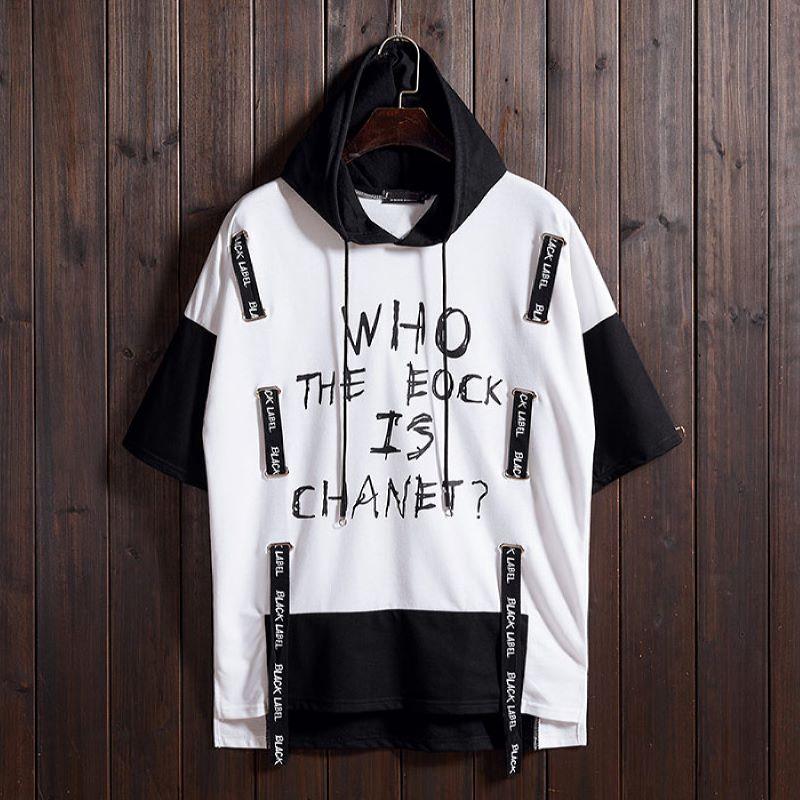 Kaos T Shirt Lengan Pendek Hip Hop Model Eropa Amerika Untuk Pria